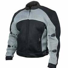 Xelement CF-511 Mesh Sports Armored Motorcycle Jacket