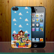 Toy Story Disney Wallpaper Woody Buzz Lightyear Hard Phone Case Cover
