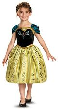 Anna Coronation Gown Disney Frozen Princess Fancy Dress Halloween Child Costume