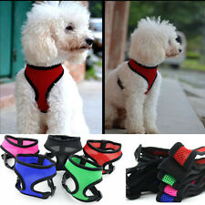 New 5 Color Any Size & Color - Soft Mesh Dog Puppy Vest Harness Free shipping
