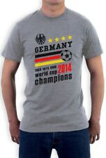 Germany World Cup Champions T-Shirt Soccer Team 2014 Winners Short Sleeve Tee