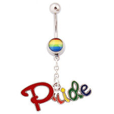 LESBIAN GAY PRIDE - BELLY RINGS - VARIOUS - YOU CHOOSE - QUALITY - SEE SHOP*****