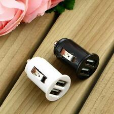 Universal Twin Dual Port 2 USB 12V In Car Socket Lighter Charger Adapter H3C