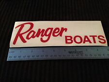 Ranger Boats vinyl sticker decal window truck river lake + 12 colors to choose!