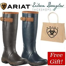 Ariat Storm Stopper Wellington Boots Wellie Boots - Navy Or Brown