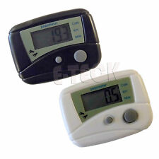LCD Run Step Pedometer Walking Distance Calorie Counter Fitness Exercise Running