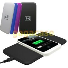 Qi Standard Wireless Charger Pad Samsung Galaxy S3 S4 S5 Note 2/3 iPhone 4s 5 5s