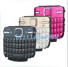New Original OEM Nokia C3  Keyboard Keypad Buttons pink Blue gold black English
