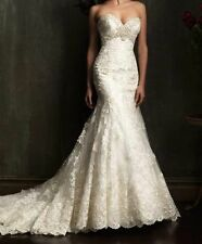 2014 New Sexy Mermaid white/ivory lace Bridal Gown Wedding Dress 6 8 10 12 14 16