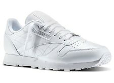 REEBOK CLASSIC LEATHER J90117 WHITE WHITE ORIGINAL CLASSIC RUNNING  MEN
