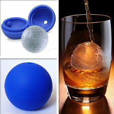 3D Silicone Death Star Ice Cube Round DIY Tool Pudding Jelly Mold Ice Trays ,1PC