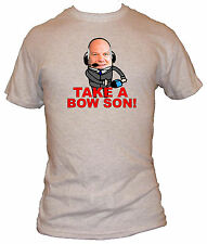 New Wave Designs T-shirt (TAKE A BOW SON) Soccer AM Football Andy Gray