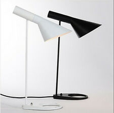 Louis Poulsen Arne Jacobsen AJ Desk lamp Table Modern light lighting Black White