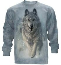 The Mountain  Snow Plow Wolf Husky Long Sleeve T Shirt