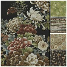 Imperial Collection 8 Metallic Asian Inspired Quilting Fabric Robert Kaufman