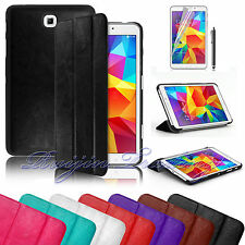 """Ultra Slim Leather Case Cover For 2014 Samsung Galaxy Tab 4 7.0 7"""" SM-T230"""