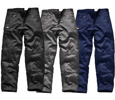 DICKIES Redhawk work Trousers WD814 WD884 BLUE GREY BLACK 32 34 36 38 40 42