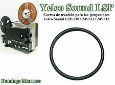 Drive Belt Super 8 Film Projector for Yelco Sound Projector LSP