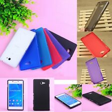 Thin Silicone Gel Matte Soft Back Cover Case For Sony Xperia M2 S50h/Dual D2302