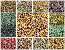 CHOOSE COLOR! 10gr. MATUBO 7/0 (3.5mm) Czech Glass Seed Beads