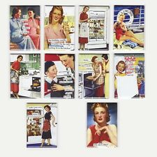 ANNE TAINTOR FRIDGE MAGNETS (postcard napkins mug retro funny mom drunk sassy)