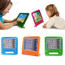 Kids Shock Proof Safe Foam Case Handle Cover Stand for iPad 2 3 4 ipad mini/Air