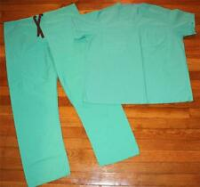 2-PC Genuine Used DOCTOR Surgical SURGEON Nurse Orderly Green SCRUBS M/L/XL