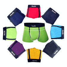8 Colors Sexy Comfortable Men's Boxer Briefs Shorts Underwear Size XL,XXL,XXL