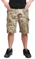 Genuine British Army Surplus Multicam Combat Shorts MTP SAS Multi Camo All Sizes