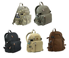 Rothco Vintage Canvas Mini Military Backpack Compact Bag 9152