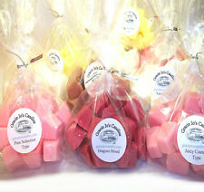 Botanical Herbal Scents Tart Melts 40 pc Chunks Candle Chips Cubes Wax Melt