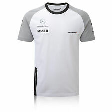Mclaren Mercedes F1 Jenson Button Team T-Shirt MENS 2014 - Brand New & Official