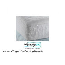 Mattress Topper Pad Bedding Blankets Cotton Cover Foam Toppers Mattresses Latex