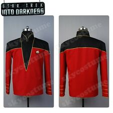 Star Trek Admiral/Officer Uniform Shirt Top Jacket Cosplay Costume Outfit Suit