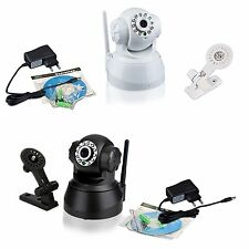 Wireless IP Webcam Camera Night Vision 11 LED WIFI Cam M-JPEG Video EU PLUG DX