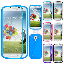 Flip TPU Wrap Up Case w/ Bulit-in Front Cover For Samsung Galaxy S4 Mini