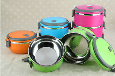 Fashion Multi-Layers Leakproof Stainless Steel Food Storage Container Lunch Box