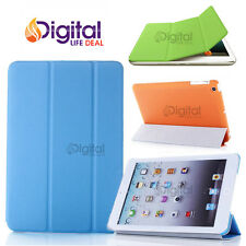 Tri-Fold Ultra Slim Magnetic Leather Smart Cover Hard Case for Apple iPad Air 5