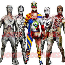 MORPHSUIT MONSTERS CHILDS BOYS GIRLS ZOMBIE FANCY DRESS COSTUME FOR HALLOWEEN