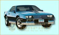 1982 1983 1984 Chevrolet Camaro Z28 Decals & Stripes Kit