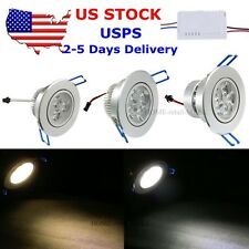 5pcs Dimmable 9W 12W 15W LED Downlight Kits Ceiling Recessed Cabinet Light Bulbs