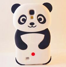 Black White Funny 3D Panda Bear Case Cover for Samsung Galaxy MOBILE PHONES FS