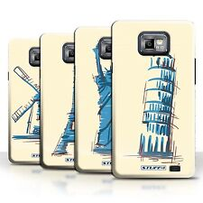 STUFF4 Phone Case/Back Cover for Samsung Galaxy S2/SII /Landmarks