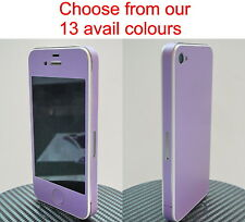 *Choice of 13 Colours* iPhone 4 Full Body Vinyl Decal Skin sticker
