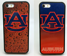 AUBURN UNIVERSITY WAR EAGLE FOOTBALL 2 PACK PHONE CASE FOR iPHONE 5C 5 5S 4 4S