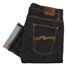 New Mens Nudie Jeans  Tube Tom Jeans - Twill Rinsed Skinny, Slim