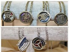 New 6 Different Anime Pendant/Necklae/Pocket Watch Chain+ Jewelery Gift-Bag.