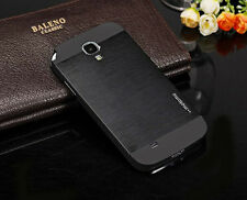 Aluminum Brushed Metal Case Back Cover For Samsung Galaxy S4 i9500 S4 mini i9190