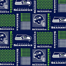 "NFL National Football League 60"" Wide Cotton Fabric by Fabric Traditions!"