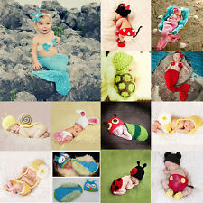 Newborn Boy Girl Baby Crochet Knit Costume Cute Halloween Costume Clothing